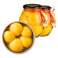 林家铺子 糖水黄桃罐头820g*2罐
