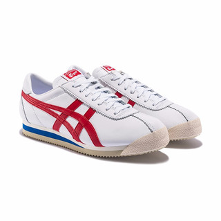 Onitsuka Tiger 鬼塚虎 TIGER CORSAIR系列 中性休闲运动鞋 D713L-0123 白色/正红色 42