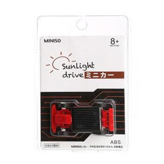 名创优品/MINISO国际款 卡通周边 太阳能赛车A款EK-SC02A-F1(红色)+凑单品
