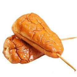 天宇米朵 鸡腿面包 豆沙80g*2+肉松80g*2+火腿肠80g*2