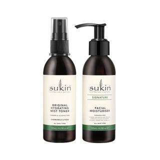 SUKIN/舒仟保湿水乳2件套