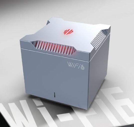 nubia 努比亚 红魔 WiFi 6 游戏路由器