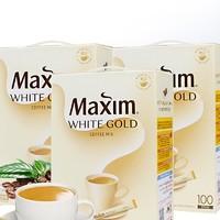 maxim 麦馨 白金奶香三合一速溶咖啡粉  100条*3盒