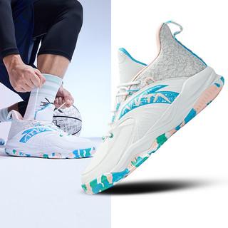 ANTA安踏篮球鞋男鞋2020春季新品官方汤普森高帮篮球鞋KT5运动鞋缓震球鞋子篮球战靴912011186 *2件