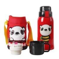 苏宁SUPER会员:BeddyBear 杯具熊 儿童保温杯带吸管 630ml