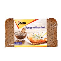白菜党:jason 捷森 黑麦全麦面包 250g *3件