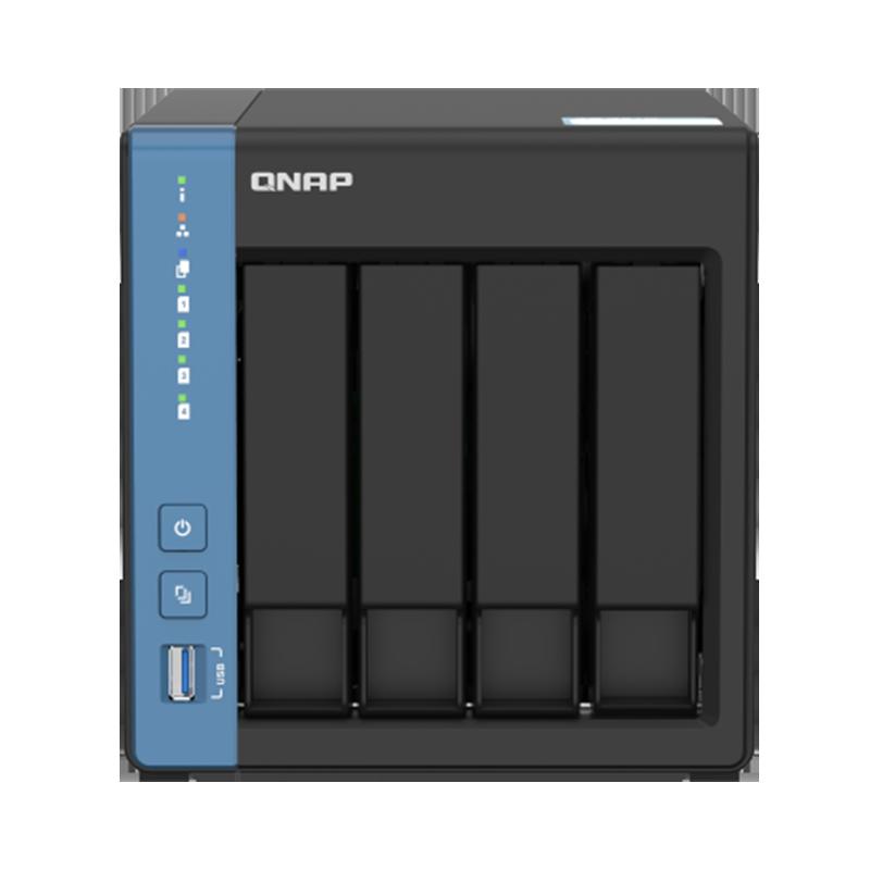 QNAP 威联通 TS-451D 四盘位NAS网络存储器 无内置硬盘 8G
