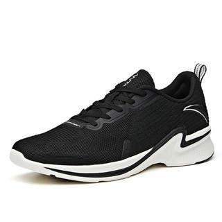 ANTA 安踏 男鞋跑步鞋飞织透气轻便运动休闲鞋街头跑鞋