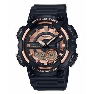 银联专享 : CASIO 卡西欧 AEQ110W-1A3V 男士手表