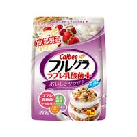 88VIP : Calbee 卡乐比 水果坚果谷物麦片 乳酸菌味 600g *2件