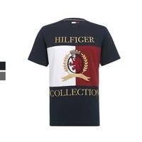 双11预售:TOMMY HILFIGER 汤米·希尔费格 RE0RE00561 徽标撞色T恤