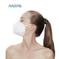 MOPS 动力口罩白款  智能防尘防雾霾防PM2.5 跑步口罩电动口罩白色防霾口罩 口罩耗材一次性