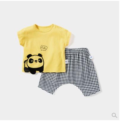Mini Balabala 迷你巴拉巴拉 儿童短袖套装