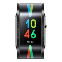 双11预售:nubia 努比亚 Nubia Watch 柔性屏智能手表 骑士黑