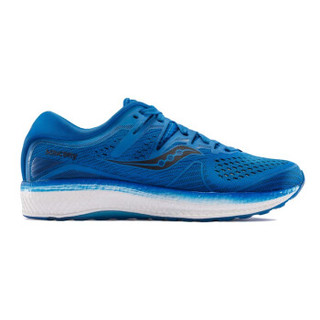 Saucony索康尼 TRIUMPH胜利ISO5 男跑步鞋网面舒适透气运动鞋S20462 蓝色 41