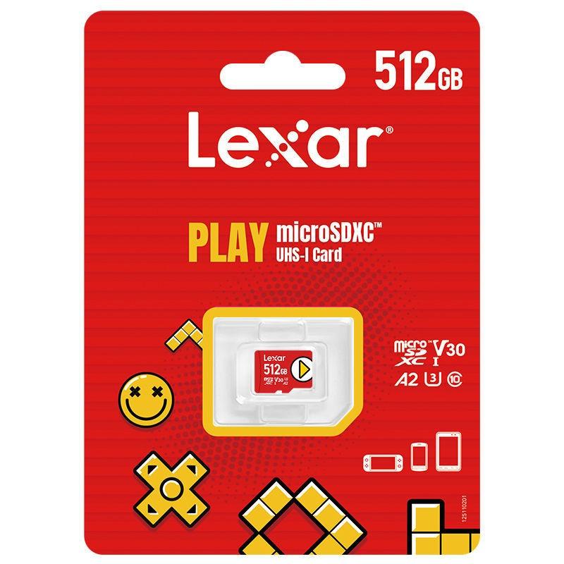 Lexar 雷克沙 microSD存储卡 256GB (UHS-I、V30、A2)