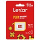 Lexar 雷克沙 microSDXC A2 UHS-I U3 TF存储卡 128GB 任天堂主机专用 89元包邮