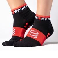 COMPRESSPORT CS-XU00001BA 跑步训练袜 黑色 T2 39-41
