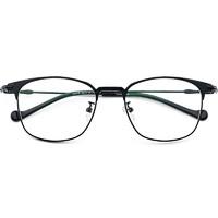 康视顿 40006 超轻复古全框眼镜 +1.60防蓝光镜片 2片