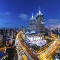 上海环球港凯悦酒店 嘉宾轩客房1晚(含早餐+双人午/晚餐)