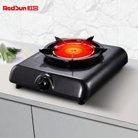 红日(RedSun)红外线灶 台式燃气灶单灶 猛火无烟无焰不黑锅底  68%热效率 JZT-108D 天然气