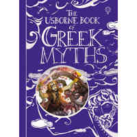 The Usborne Book of Greek Myths (Usborne Myths & Legends)希腊神话 Usborne英文原版