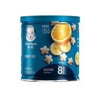 Gerber 嘉宝 婴儿辅食香蕉橙子泡芙 49g