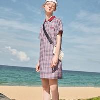 阔色 KSB1903011 女士Polo领连衣裙 *3件