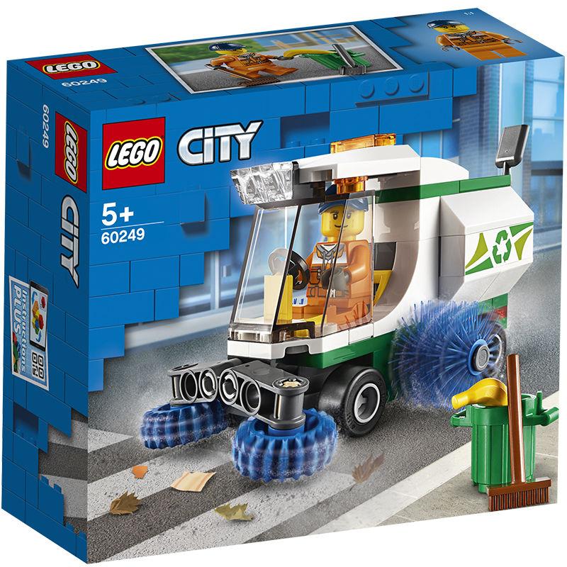 百亿补贴 : LEGO 乐高 城市系列 60249 清扫车