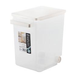 CHAHUA 茶花 2310 塑料立方收纳米桶 17L 透明色 *6件