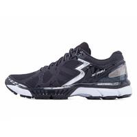 361° 361度 SPARKLE 男款跑鞋 67172Y813 黑色/银白色 42
