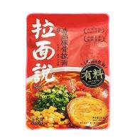 拉面说 浓汤番茄豚骨拉面 146g*5袋