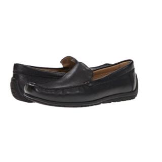ecco 爱步 Soft Loafer 男款休闲皮鞋Black  US7.5