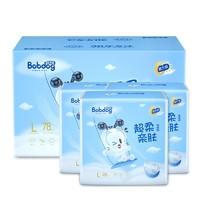 BoBDoG 巴布豆 超柔亲肤纸尿裤 L78片