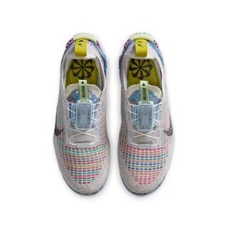 NIKE 耐克 AIR VAPORMAX 2020 FK (GS) 大童休闲运动鞋 CJ4069-003 白金色/黑/多色 39