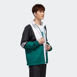 adidas 阿迪达斯 neo M SS TCNS WB 1 男士风衣 GJ8762 森林绿/黑色 170/88A
