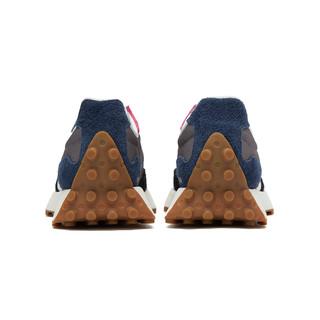 new balance 327系列 中性休闲运动鞋 MS327SFB 灰色/黑色/深蓝