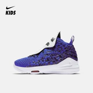 Nike 耐克官方 LEBRON XVII MTAA GS 大童篮球童鞋 CU4113