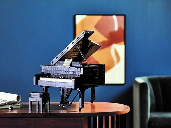 百亿补贴:LEGO 乐高 IDEAS系列 21323 可弹奏钢琴