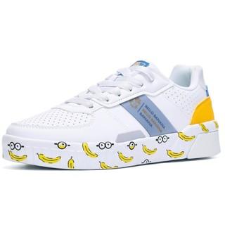 361° 小黄人联名 682016608 女士休闲板鞋