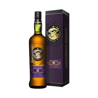 LOCH LOMOND罗曼湖18年苏格兰单一麦芽威士忌700ml英国进口洋酒