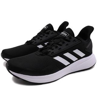 adidas 阿迪达斯 DURAMO 9 男士跑鞋 BB7066 黑色/白色 42