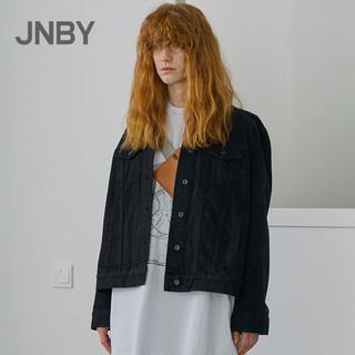JNBY/江南布衣2019春秋新品简约休闲水洗长袖牛仔外套女5I1202910