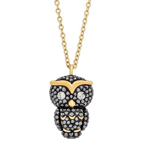 Swarovski 施华洛世奇 5366714 猫头鹰水晶项链
