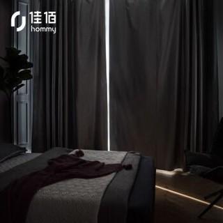历史低价 : 佳佰 挂钩式加厚牛津布窗帘 1.5*1.8m (单片装)