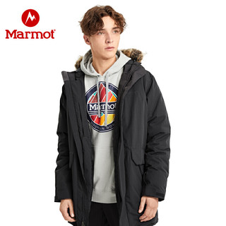 marmot 土拨鼠 V73980 男子700蓬羽绒服长款