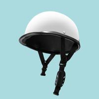 LMM 夏季纯色电动车头盔