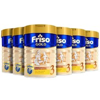 Friso 美素佳儿 婴儿奶粉 3段 6罐装