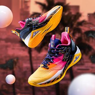 361° 阿隆戈登 572021115 男子Q弹实战篮球鞋+男子帆布鞋