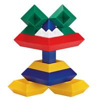 KEBO 科博 金字塔儿童拼装积木 15件装